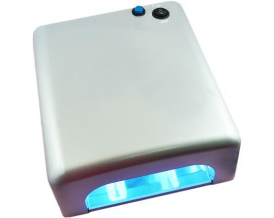 Lampe manucure U.V.A. 9W blanche standard