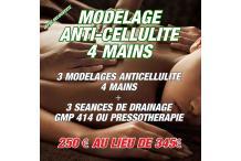 MODELAGE ANTICELLULITE 4 MAINS