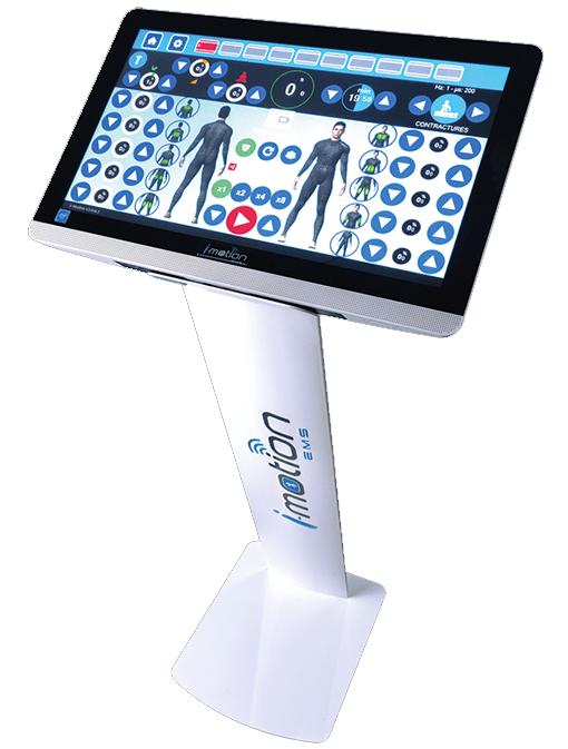 appareil electrostimulation professionnel ems sans fil imotion
