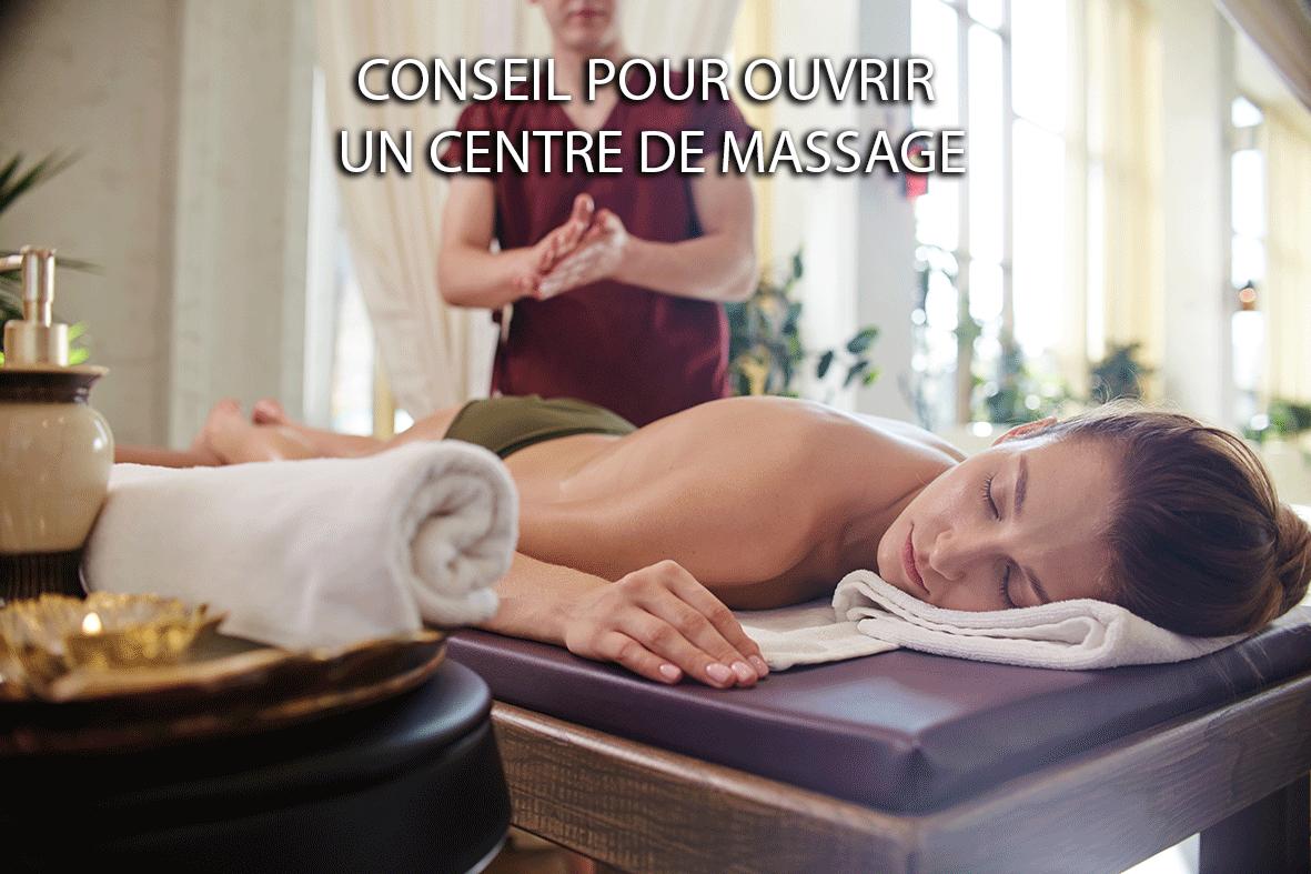 Ouvrir un centre de massage